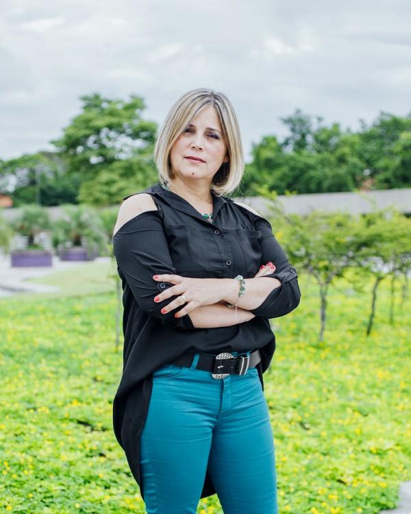 Marisa Lobo, que diz preferir 'meu filho machinho, que nem a Claudia Leitte' (Gabriel Cabral/Projetor)
