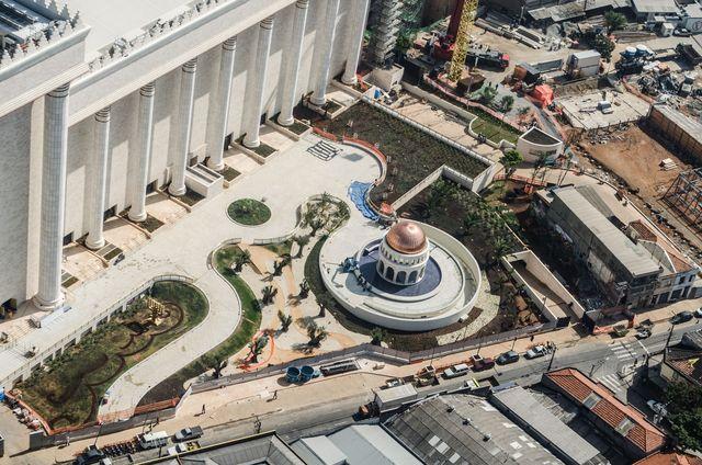 O templo visto de cima (Antonio Miotto/Fotoarena/Folhapress)
